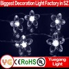wholesale christmas products mini led cherry blossom tree light Christmas cherry string Lights