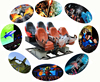 Interactive attractions full motion chair drivers usb 7d gaming mouse with full effects for shopping mall