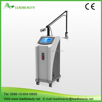 Professional freckle removal co2 fractional laser machine for skin resurfacing