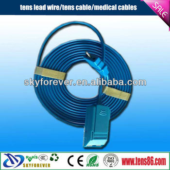 Cable for ESU Plate,electrode cable,eletrode wire