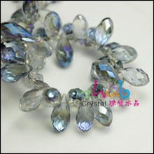 Water Drop Shape Crystal Glass Beads,20 Pieces Per Lot, Disccount Price!! Fashion Jewelry Accessory