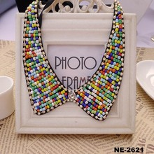 Jewelry Crystal Diamond Neck Collar for Girl Dress