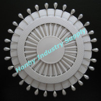 USD900 For 720 Wheels 55mm White Color Teardrop Head Floral Pin