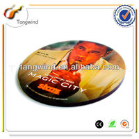 Novelty Promotional drink coaster with customized logo TWC0842