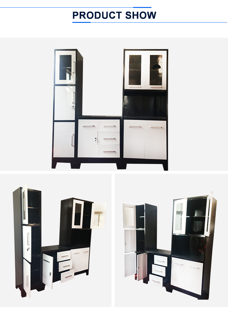 competitive price steel kitchen cabinet