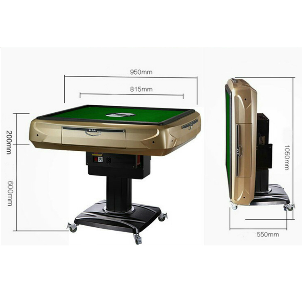 FOLDING DOUBLE Fully Enclosed Mahjong Table Automatic Mahjong Table
