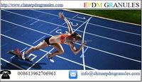 Sports Rubber Track Surface, School Sport Rubber Running Track Materials Color EPDM Granules