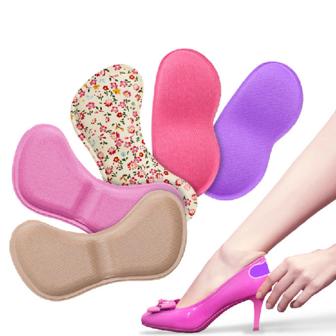2015 New Inserts Shoe Heel Protectors Silicone Pad Half Yard Thick High Heels Shoes Foot Wear Inserts Streamline Style A01-05