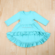 Wholesale baby clothes kids girls cotton fall dresses baby cotton frocks designs