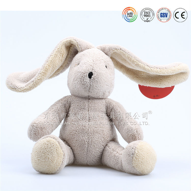 Long ear plush hare/plush rabbit toy/soft toy bunny