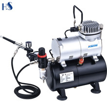 wholesales 110V 220V 240V mini compressor oil free airbrush paint tool