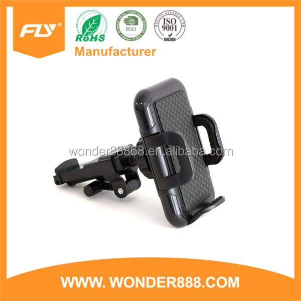 Multifunction easy clip and adjustment car mount holder 2016 support phone car support phone car