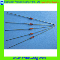 MF58 NTC Thermistors 10K 100K 2.252K 30K , Cost Of Thermistor 5k ohm For Air Conditioner