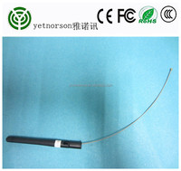 Factory sale 433.92 mhz antenna with 15cm U.fl/IPEX extension Cable