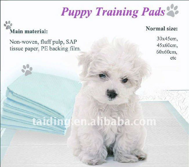 disposable puppy pet training pee pad