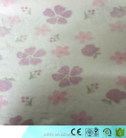 Offset Plain Printing flannel Fleece Fabric for Cloths