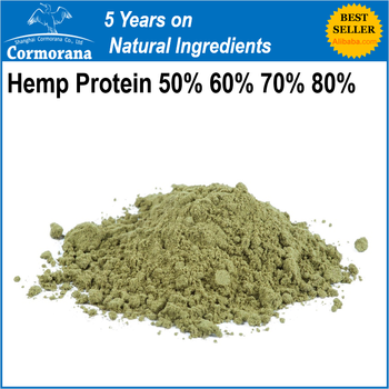 Hemp Protein Powder 50% 60% 70% with Ready Stock