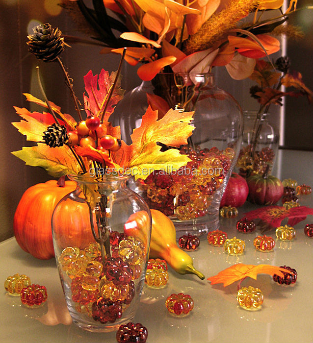 decorative filler plastic pumpkin for fall season