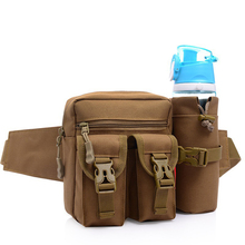 Outdoor Sport Oxford Leisure Cycling Fanny pack Bottle Holder Waist Bag