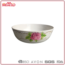 Daily used items quality melamine dinnerware fruit salad bowl