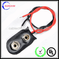 9V Battery Snap Connector UL CE ROHS 9V Battery Clip