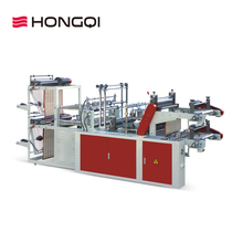 Hot sale two layer cold cutting bag making machine