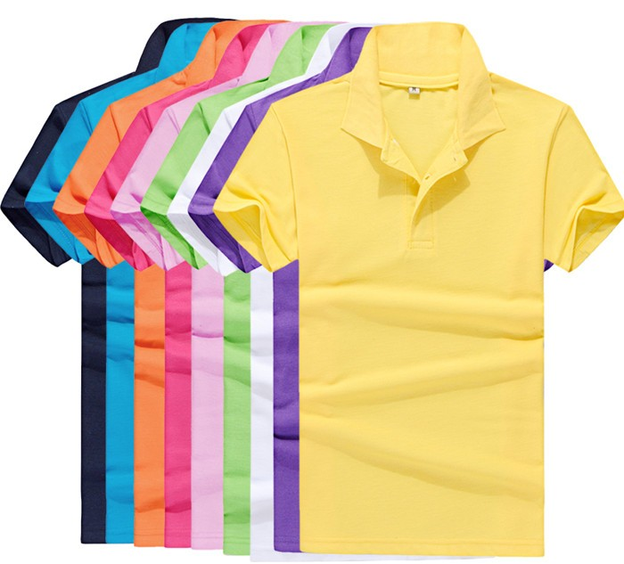 2016 Short Sleeve T-shirt Men's Brand T-shirt Multi-colored Polo T-shirt