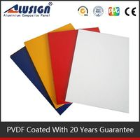 Alusign acm sheet,acp aluminum composite panel with high quality control