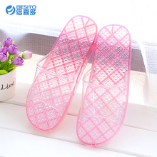 Beixiduo 2016 Beach New Design PVC Ladies Aerosoft Slipper Wide Slippers