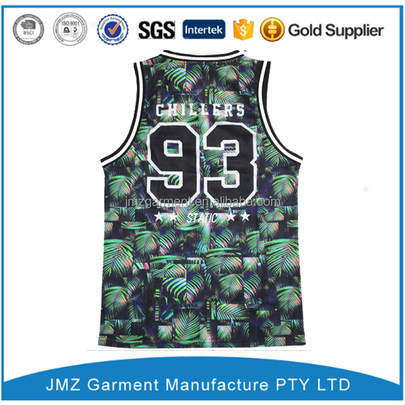 custom wholesale 100% polyester fashion basketball jersey with latest print design low moq China Alibaba