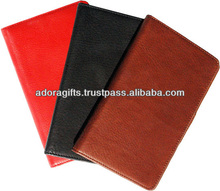 leather hardcover custom planner / fashionable pocket planner / newly design cheap student planners