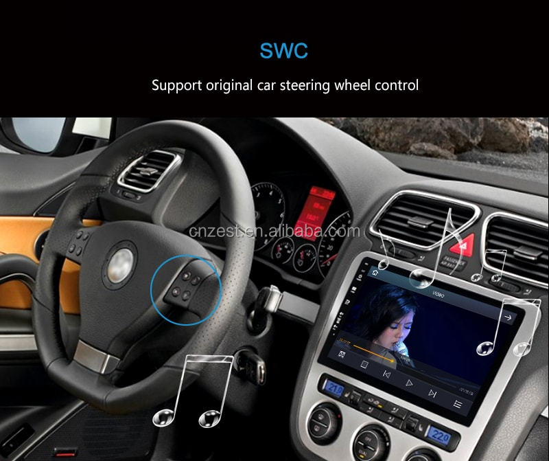 android car dvd player for peugeot 206 parts with radio/gps navigation system