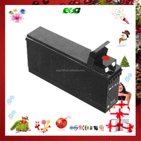 12V120AH solar battery inverter Terminals Front battery for South africar marketing