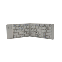 High quality OEM ultra-thin mini portable folding Bluetooth Keyboard 3.0 for Table PC