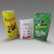 Low Price pp 50kg plastic chicken feed bag for sale
