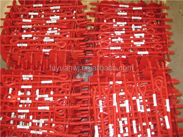 2017Hot dipped galvanized metal earth anchor (factory)