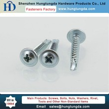 Pan Washer Head Self Drilling Screws with Cross Drive M3