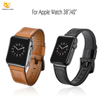 Smart Belt Band for Apple i Watch Strap Genuine Leather 38mm 42mm