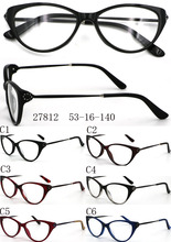 Latest name brand acetate spectacles frame reading beautiful glasses frames Model 27812