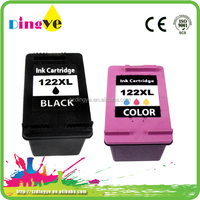 remanufactured ink cartridges for hp 122xl refill ink cartridge chip reset