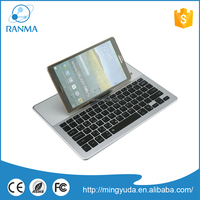 Luxury mini wireless wireles aluminum bluetooth keyboard cover case