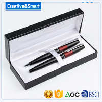 Fashion stationery ,luxury promotional parker pen and metal roller pen set