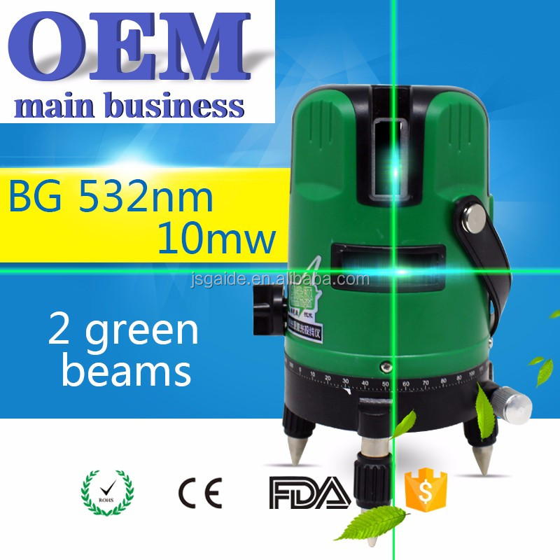 Green automatic self-leveling rotary laser level prices construction