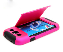 With credit card case for samsung galaxy s3,2014 Professional custom silicone case for Galaxy S3 I9300
