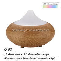fragrance usb air humidifier, air perfume machine, wooden air aroma diffuser