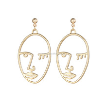 Fashion Simple Gold Earring Designs For Women wholesale HZS-0214