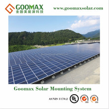 solar energy product structure for panel mounting with SGS ANS certified delivered in 7-15days