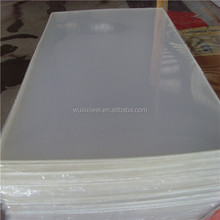 Flexible clear plastic acrylic sheets