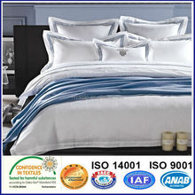 100% Cotton Satin Hotel Textile Hotel Bedding sets
