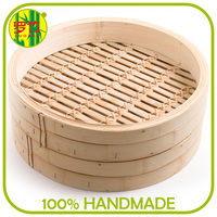 Looking for Investment Partner Commercial Natural Bamboo Steamer Food Steamer